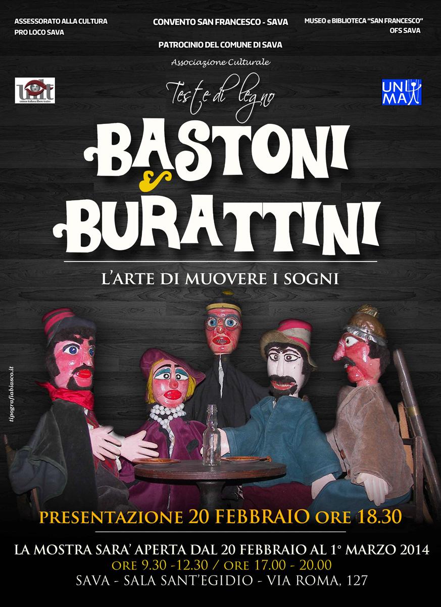 Mostra di Burattini presso la Sala Sant'Egidio