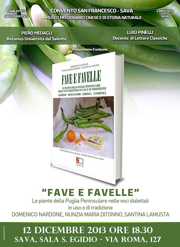 Fave e Favelle- Presentazione del libro