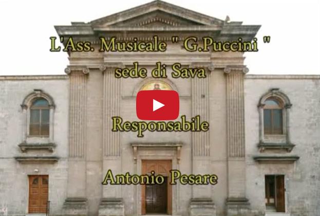 """Ass. Musicale """"G.Puccini"""" (Sava) Passione di nostro Signore"""